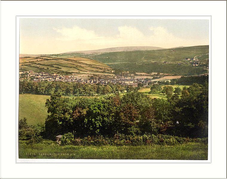 File:From N. W. Okehampton England.jpg