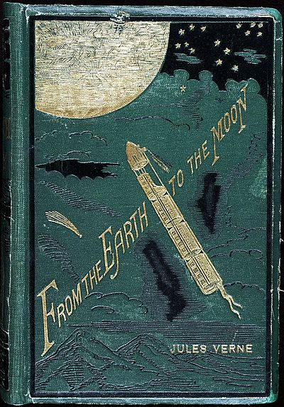 Picture of a book: From The Earth To The Moon