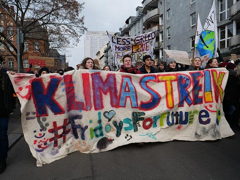 Datei:Front banner of the FridaysForFuture Demonstration 25-01-2019 Berlin 18.jpg