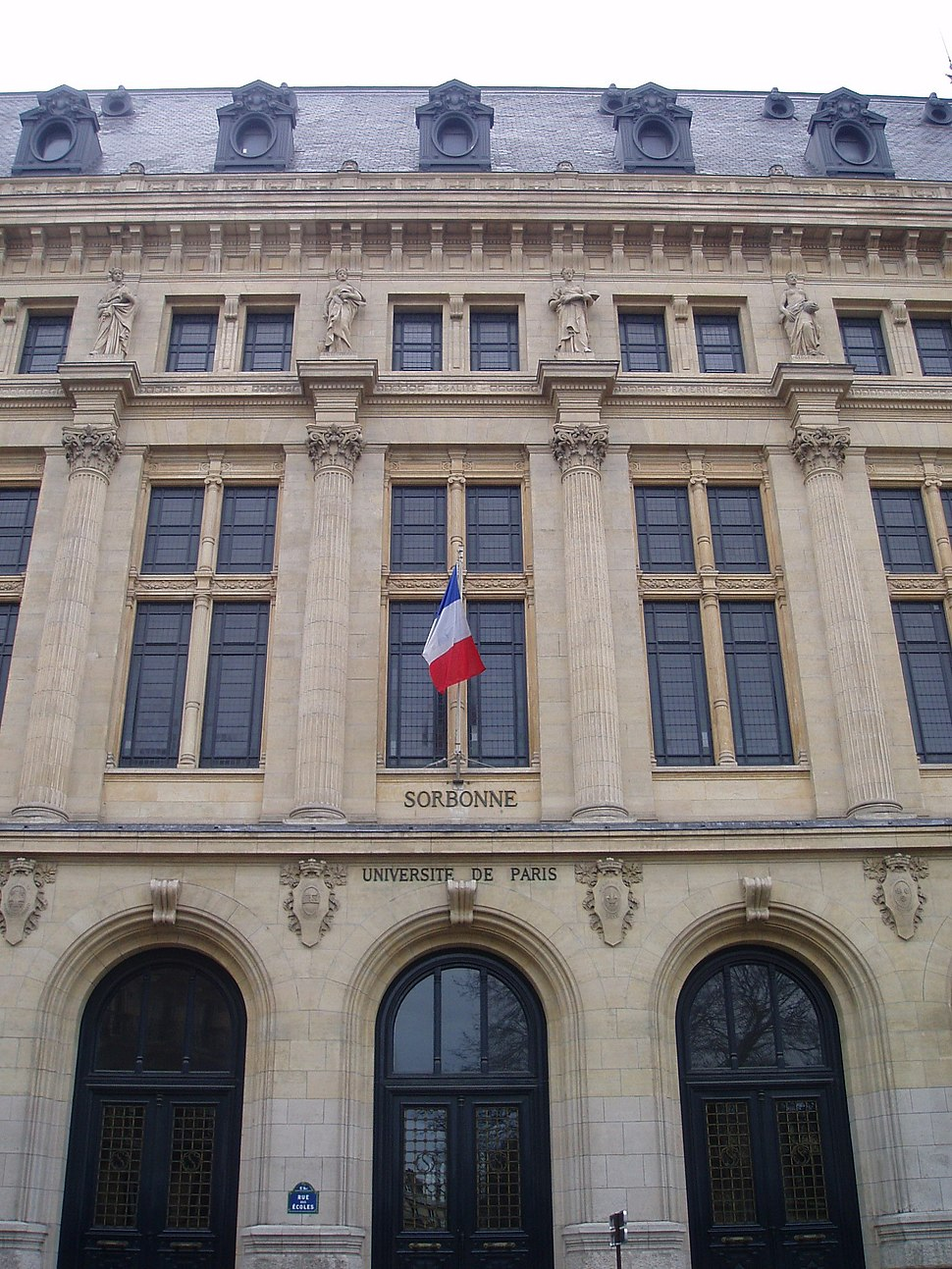 Front of the Sorbonne