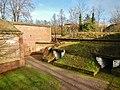 Fronte Beckers, Dieser noch vollständig erhaltene Teil der ehemaligen Festung verdeutlicht das für die Festung Germersheim typische Befestigungssystem exemplarisch und wurde benannt nach dem bayrischen General August R - panoramio.jpg