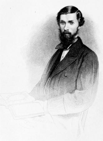 Alexander Henry Rhind - Engraving from photo in Stuart's Memoir by Robert C. Bell