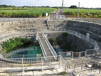 Miyakojima, Okinawa - Image: Fukuzato Dam Okinawa 1