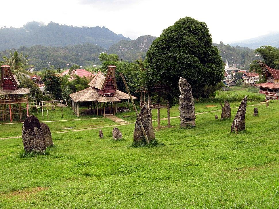 Funerary Monoliths, Karassic Village, Tana Toraja 1425