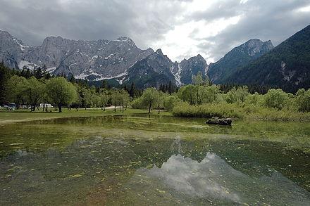 Il monte Mangart e i laghi di Fusine