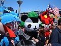 Fuwa at 2008 Olympic Torch Relay in SF 2.JPG