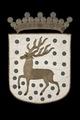 Gästriklands vapen med hjort, 1660 - Livrustkammaren - 108746.tif