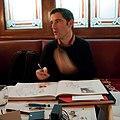 Gérald Guerlais en dédicace, Café du Commerce, Paris 2012 (2).jpg