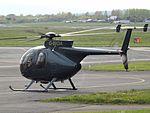 G-BIOA Hughes 500 Helicopter (26775145222).jpg