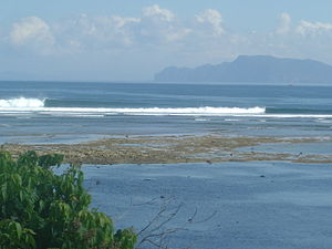 G-Land - Line up of surf spot commonly known as G-Land, or Grajagan.