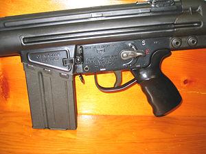 Heckler & Koch HK41 - 1962 HK G3 semi-automatic receiver.