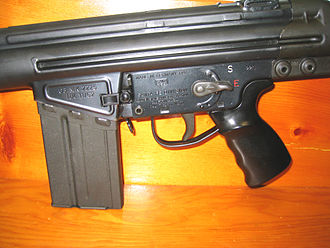 Heckler & Koch HK41 - 1962 HK G3 semi-automatic receiver.