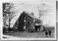 GENERAL VIEW. (Date and photographer unknown) - Ananias Conklin House, Main Street, Amagansett, Suffolk County, NY HABS NY,52-AMGA,1-1.tif