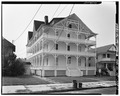 GENERAL VIEW OF NORTH FACADE - 6 Atlantic Avenue (Hotel), Ocean Grove, Monmouth County, NJ HABS NJ,13-OCEG,2-1.tif