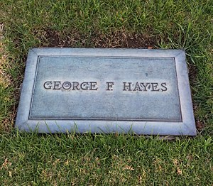"George ""Gabby"" Hayes - Hayes's grave of at Forest Lawn Hollywood Hills"