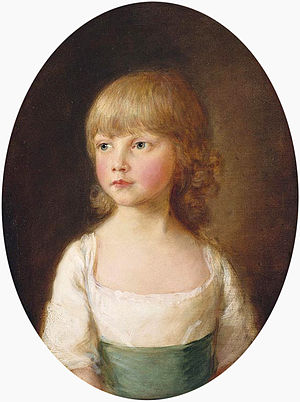 Princess Sophia of the United Kingdom - Princess Sophia, aged 5 in 1782