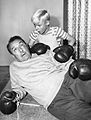 Gale Gordon Jay North Dennis the Menace boxing 1962.JPG