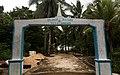 Gapura Selamat Datang di Desa Lorang, Aru Tengah, Kepulauan Aru, Maluku.jpg