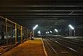 Gare de Boitsfort platforms on a foggy morning in December (Belgium).jpg