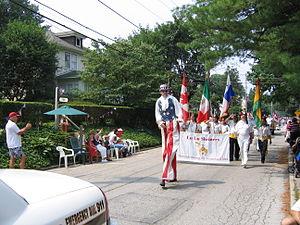 Garrett Hill, Pennsylvania - Annual 4th of July Parade: Lowrys Lane