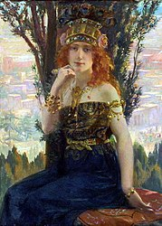 Gaston Bussière: Helen of Troy