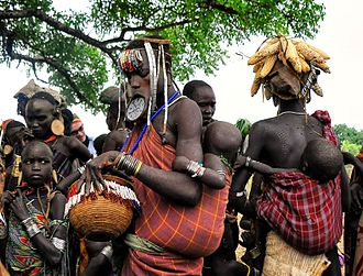 Southern Nations, Nationalities, and Peoples' Region - Mursi people