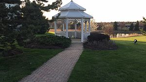 Lombard, Illinois - Gazebo in Lombard Illinois