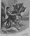 Geiger Richárd - görög népek 013 Héraklész felhozza Kerberoszt.jpg