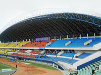 Gelora Sriwijaya Stadium, in Jakabaring, Palembang, South Sumatra, Indonesia