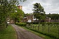 Gelston Castle Stables - general view from W.jpg
