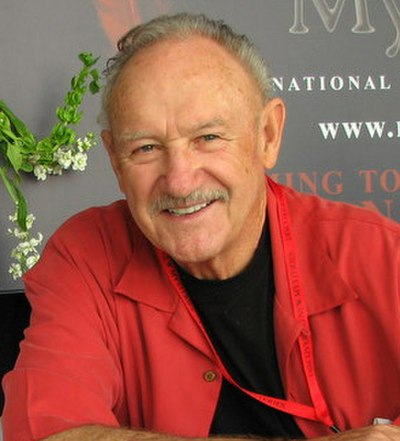 Gene Hackman, American actor and novelist