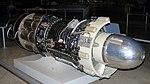 General Elestric J47 turbojet, National Museum of the US Air Force, Dayton, Ohio, USA. (Edited (31484618427).jpg