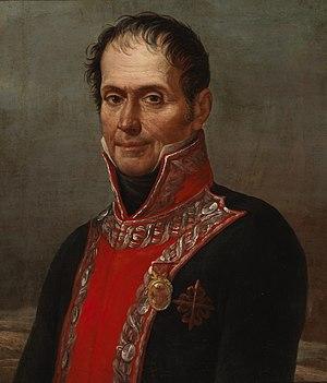 Francisco Javier Venegas - Portrait by José Aparicio