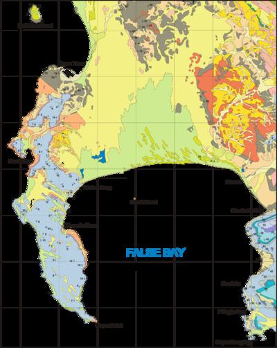 Marine geology of the Cape Peninsula and False Bay  Wikipedia