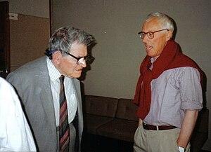 George Elder Davie - George Davie with Dr. Vincent Hope in 1996