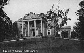 George V. Forman - Forman Residence on Delaware Avenue, Buffalo, New York