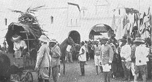 Charles Atangana - Atangana (foreground, right side) during the German colonial period