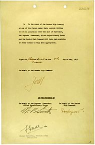 German Instrument of Surrender (May 7, 1945) - page 2.jpg