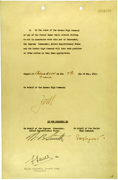 Файл:German Instrument of Surrender (May 7, 1945) - page 2.jpg