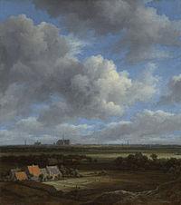 Gezicht op Haarlem uit het noordwesten, met de blekerijen op de voorgrond Rijksmuseum SK-A-351.jpeg