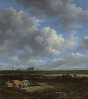painting by Jacob Isaacksz. van Ruisdael