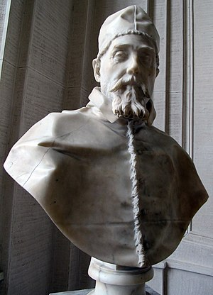 Busts of Pope Urban VIII - 3. Gianlorenzo Bernini, Bust of Urban VIII, 1637-8
