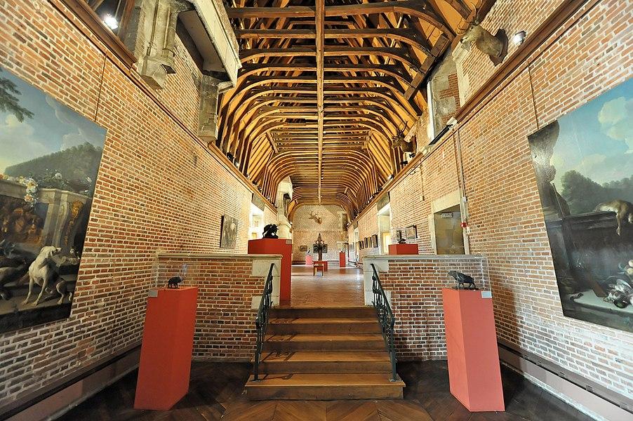 Exposition in the Château de Gien