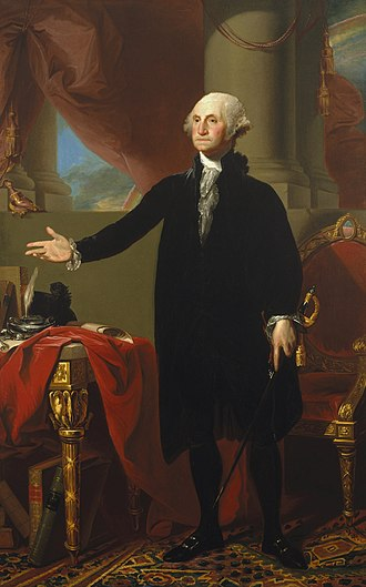 Brooklyn Museum - Gilbert Stuart, Portrait of George Washington