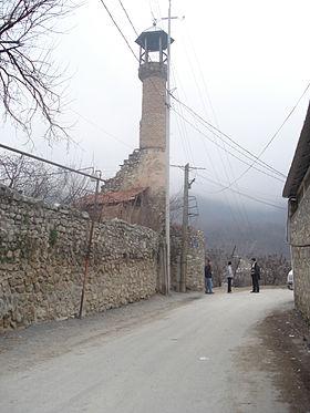 Giləhli məscidinin minarəsi