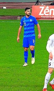 Giorgos Masouras Greek association footballer