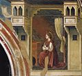 Giotto di Bondone - No. 15 Annunciation - The Virgin Receiving the Message - WGA09191.jpg