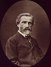 Giuseppe Verdi in 1876.