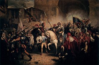 Giuseppe Bezzuoli - Image: Giuseppe Bezzuoli Entry of Charles VIII into Florence WGA2144