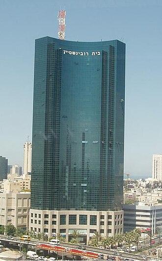 Beit Rubinstein - Image: Glass building
